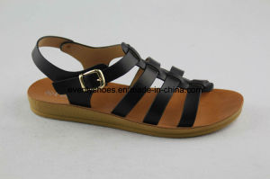 Hot Sales Comfortable Women Fashion Sandal with Cross Upper pictures & photos