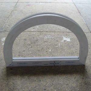 White Colour UPVC Profile Arch Fix Window K02011 pictures & photos