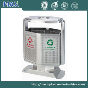 Outdoor Waste Bin with Ashtray pictures & photos