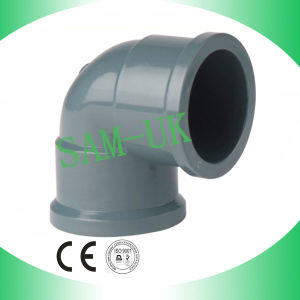 NBR Standard Grey PVC Elbow pictures & photos
