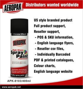 Aeropak Chrome Effect Spray Paint pictures & photos