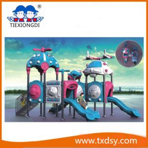 Popular Kid Playhouse Slide Outdoor Playground Equipment Txd16-10210 pictures & photos