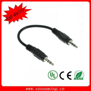 High Quality Audio Video 3.5mm Jack Cable 1m pictures & photos