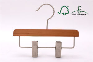 High Quality Children / Baby Hanger with Clips for Pants (GLWH164) pictures & photos