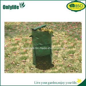 Reuseable UV Resistant PE Fabric Garden Leaf Waste Bags pictures & photos