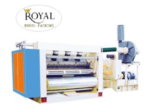 Single Flute Corrugated Cardboard Machine with Cubic Model pictures & photos