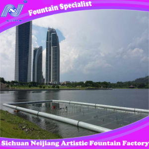 Water Screen Show with Laser Outdoor Fountain