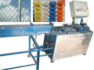 Diamond Shape Mesh Chain Link Fence Making Machine pictures & photos