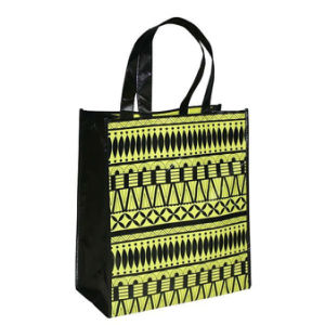 Custom Laminated PP Woven Shopping Bag Wholesale (LJ-357)