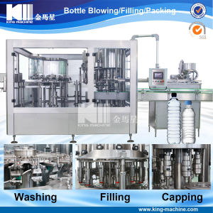 Automatic Flavoured Soda Water Filling Line pictures & photos