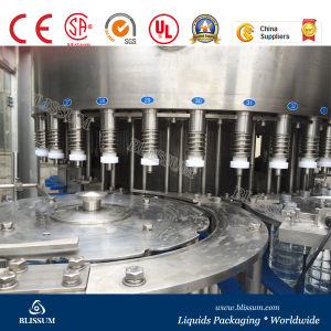 10000bph Plastic Bottle Fizzy Water Filling Line pictures & photos