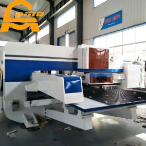 Power Press Servo Driven CNC Turret Punching Machine pictures & photos
