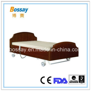Three Functions Care Bed for Nursing Home Medical Nursing Bed pictures & photos