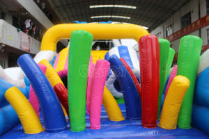 Large Sea Theme Inflatable Obstacle Course Chob1101 pictures & photos