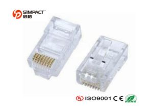 UTP Cat5e LAN Cable Connector RJ45 pictures & photos