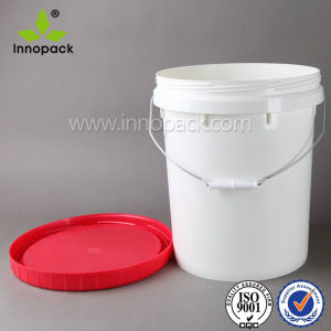 20L 5 Gallon Screw Lid Plastic Bucket Pail pictures & photos