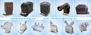 69kv Outdoor Single Pole PT or Voltage Transformer for Mv Switchgear pictures & photos