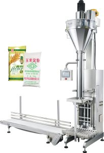 Screw Lifting Weighing Packaging Machine pictures & photos