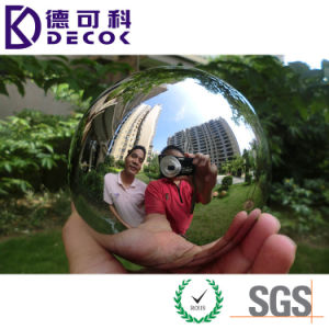 Decorative Brushed Sphere 304 Stainless Steel Ball pictures & photos