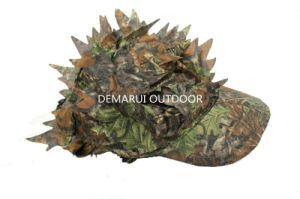 3D Leaf Camouflage Frontier Hat for Outdoor Sports pictures & photos