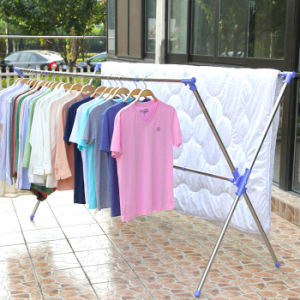 Stainless Steel Extendable X-Type Clothes Hanger pictures & photos
