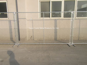 PVC Coated Temporary Fencing/Commercial Galvanized Security Steel Fencing pictures & photos
