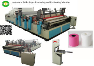 Semi Automatic Mini Toilet Paper Making Machine Price pictures & photos