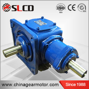 1: 1 Ratio Right Angle Shaft Mounted Helical Bevel Geared Reducers pictures & photos