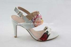 Flora Upper Elegant Fashion Women High Heel Sandal pictures & photos
