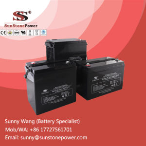 Deep Cycle 12V 50ah Gel Solar Battery Sealed Lead Acid Battery pictures & photos
