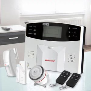 Ios Android APP LCD Smart Touch Keypad Wireless Wi-Fi GSM Home Security Voice Burglar Alarm System Auto Dial pictures & photos