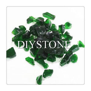 Green Glass Rock for Gabion pictures & photos