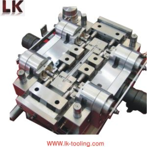 Engrave Electroplate Spare Parts Aluminum Die Casting Moulding