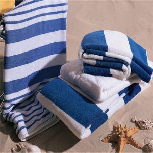 100% Cotton Jacquard Bath Towel in Solid Color