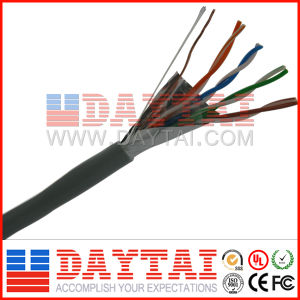 Indoor & Outdoor Network FTP Cat5e LAN Cable HDPE+CCA+Pet/Al+Rip Cord pictures & photos