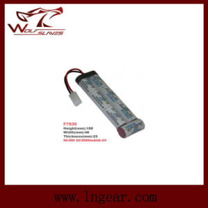 Firefox 9.6V 2000mAh Ni-MH Airsoft Crane Stock Battery pictures & photos