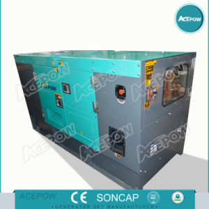 50kw Soundproof Diesel Generator Set with ATS pictures & photos