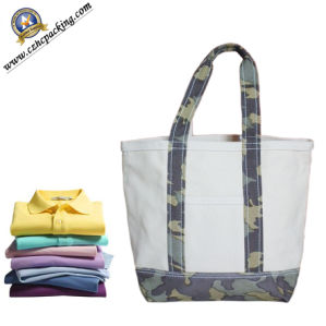 Camouflage Garment Cotton Canvas Shopping Bag (HC00150814001) pictures & photos