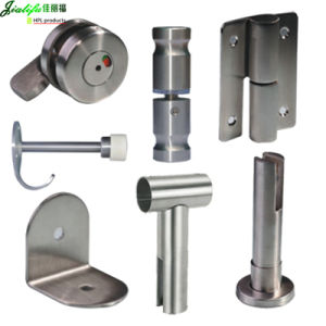 Stainless Steel Toilet Partition Hardware pictures & photos