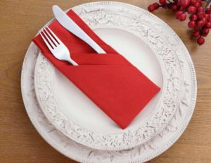 Luxurious European Linen-Like Guest Towel Napkins