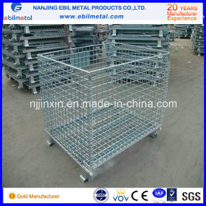 Arge Industrial Stackable Storage Wire Mesh Containers (EBIL-CCL) pictures & photos
