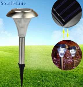 Stainless Steel Lawn Lamp Solar Garden Lights Garden Lights Light Outdoor Decorative Lamp Plug in Lights pictures & photos