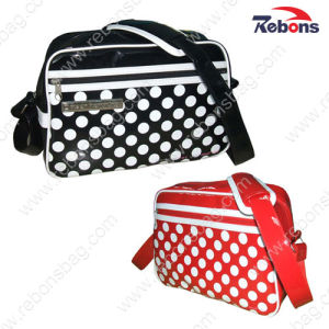 Stylish Shiny PVC Waterproof Cross Body Sling Shoulder Bags pictures & photos