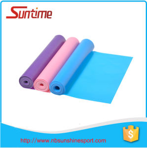 Three Colors Flat Band, Latex Resistance Exercise Bands, Flat Resistance Bands for Stretching Pilates and Yoga