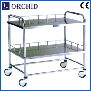 Stainless Steel Treatment Trolley (Q-04)