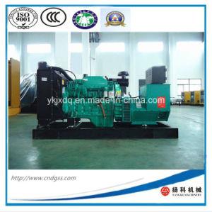 Low Consumption! Cummins Engine 300kw/375kVA Open Diesel Generator Set pictures & photos