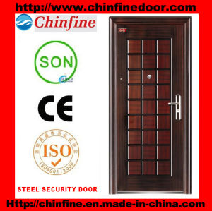 2016 New Designs Steel Security Door (CF-063) pictures & photos
