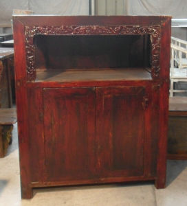 Antique Chinese Wooden Cabinet with 2 Doors Lwa565 pictures & photos