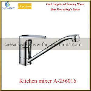 Long Spout Single Lever Water Kitchen Sink Tap