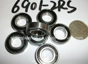 Rubber Sealed Ball Bearing Miniature Bearing 6901-2RS with Size 12 X 24 X 6mm pictures & photos